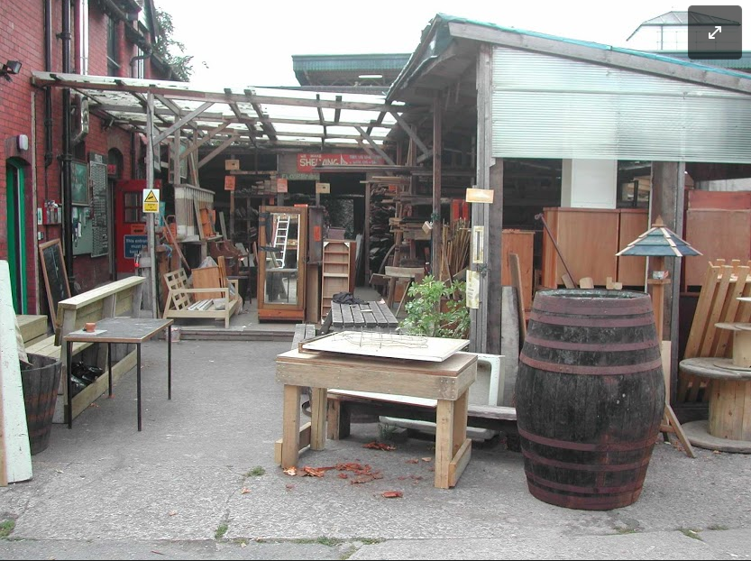 wood recycling projects